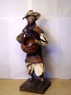 Vintage Mexican Folk Art Paper Mache Sculpture
