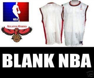 Atlanta Hawks Blank Throwback NBA Basketball Jersey 3XL