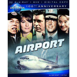 Airport [Blu ray + DVD + Digital Copy] (Universals 100th Anniversary