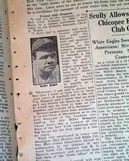 Series Chicago Cubs vs Philadelphia Athletics Newspaper MLB