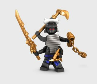 Lord Garmadon Minifig from 9450 Figure 4 Arms Minifigure Weapon