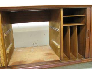 Arne Vodder Danish Modern Teak Stereo Cabinet Sideboard