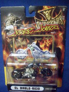West Coast choppers 1 31 scale die cast motorcycle Jesse James El
