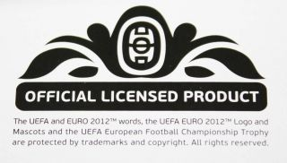 UEFA Euro 2012 Poland Ukraine Official Panini Sticker Album Starter