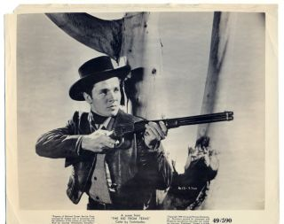 Audie Murphy Original Movie Photo 1950 The Kid from Texas