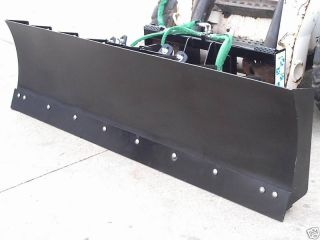 SNOW PLOW DOZER BLADE SKID STEER LOADER ATTACHMENT John Deere Mustang