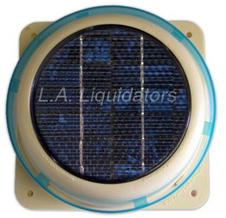 Solar Powered Attic Vent Greenhouse Fan New