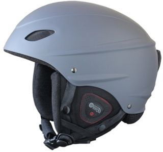 2013 Demon Phantom Audio Grey Snowboard Ski Helmet New