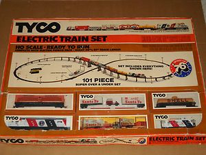 Tyco HO Scale Train Set Spirit Of 76 Bicentennial Over Under NEW