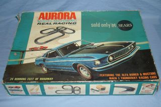 Aurora Model Motoring HO Scale Slot Car  Track Set