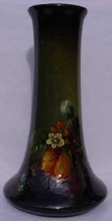 Weller Louwelsa Aurelian Dickens Unsigned 12 75 Vase Blackberries