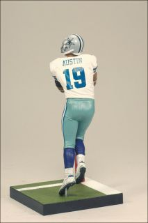 Miles Austin Dallas Cowboys White Jersey 6 NFL Sports Action Figure