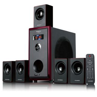 800 Watt Multi Media Surround Sound Home Theater Speaker System w/Sub