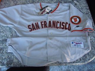 MLB Barry Bonds San Francisco Giants #25 Authentic Russell AWAY Jersey