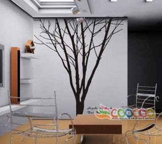 Wall Decor Decal Sticker Removable Large 90 Tree Trunk