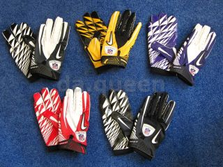 Mens Nike Vapor Jet Football NFL Equipment Receiver Gloves Many Colors