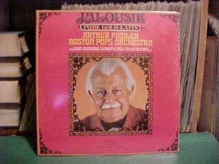 SEALED LP Arthur Fiedler Boston Pops Jalousie Stereo