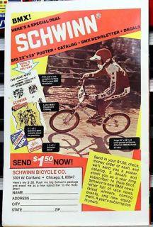 Schwinn BMX Old School Ad Donnie Atherton