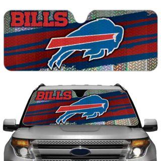 Bills Licensed NFL Reflective Car Windshield Sun Shade Automotive