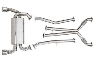 Tiburon DC Sports Stainless Steel Exhaust System DCS6501