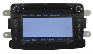 HD Car DVD GPS Radio RDS Navi Headunit Autoradio for Renault Duster