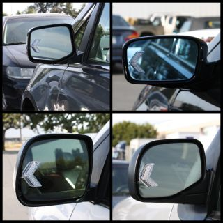 Turn Signal Arrow Red Lights Side View Mirror Instant Upgrade E