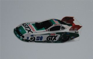 Ashley Force Hood Castrol GTX Refrigerator Tool Box Magnet 2009 FREE S