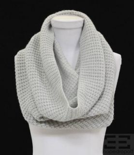 Autumn Cashmere Gray Merino Wool Cashmere Neck Warmer