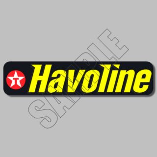 Texaco Filling Station Sky Chief Oil Decals Sticker