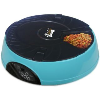 Qpets 6 Meal LCD Automatic Pet Feeder AF 108