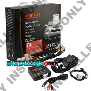 Pac Is FD571 Ford Factory Radio iPod iPhone Car Stereo Aux Audio Input