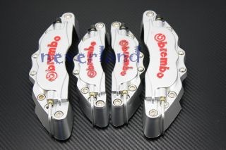 Front Rear Auto Universal Disc Brake Caliper Covers Brembo Look 3D