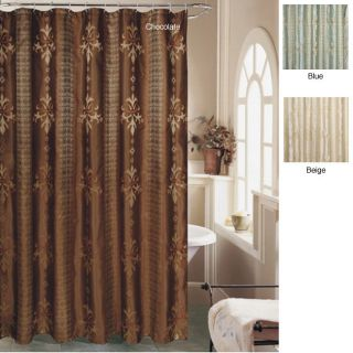 Fleur Des Lis Shower Curtain or Three Piece Towel Set