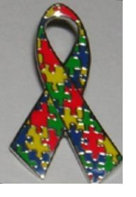 Mini Asperger Autism Awareness Puzzle Ribbon Hat Lapel Tac Pin A50