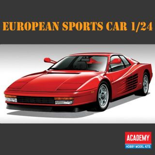 SPORTS CAR 1 24 Academy Model Kit Interior Super Sports Car Decor NEW