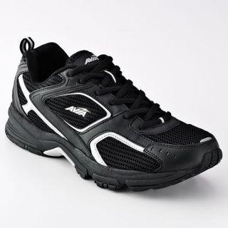 Avia A5015M Mens Athletic Black Running Comfort Cross Trainer Shoe