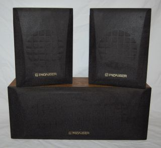 1980s Vintage Pioneer Speakers Surround Sound Home Theater Pioneer s