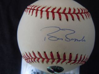 Barry Bonds San Francisco Giants Signed Baseball Bonds Holo