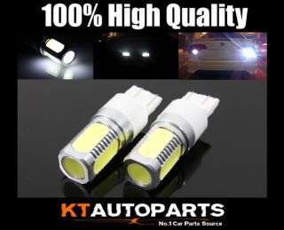 2X 7.5W SMD LED WEDGE LIGHTS BULBS WHITE PARKING TURN SIGNAL TAIL SIDE