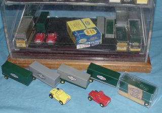 Vibrator Slot Car Truck Collection Semis Tractors Trailers Logo Vans