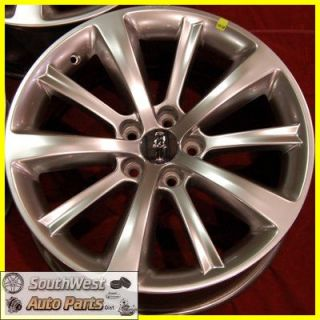 MKS 19 Hypersilver Take Off Wheels Factory Rims Set 3766