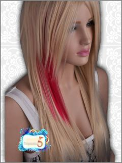 GW023 Long Blonde Straight Fashion Wig Avril Lavigne
