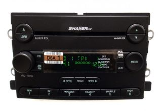 New 05 06 Ford Mustang Shaker 500 Radio Stereo 6 Disc Changer MP3 CD