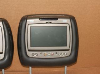 NEW 2007 2012 SILVERADO AVALANCHE TAHOE YUKON DUAL DVD LCD MONITOR