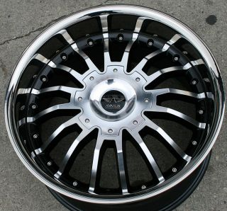 Avarus AV1 20 Black Rims Wheels Jeep Grand Cherokee