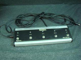 Boogie Dual Rectifier 100 3ch. Tube Guitar Amplifier Head w/Footswitch