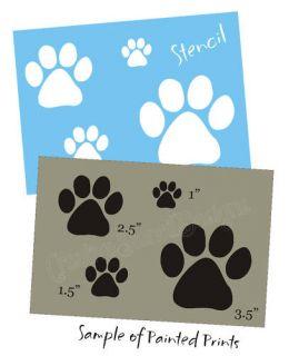 Dog Cat Pet Animal Tracks Craft Scrapbook Veterinary Signs