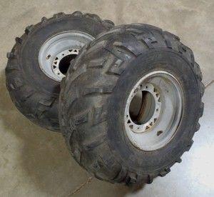 Polaris Diesel 4x4 ATV Rear Wheels Tires 335 500 Xplorer Sportsman