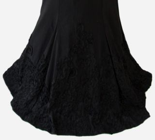 Darlin $160 Black Juniors Formal Cruise Dance Prom Evening Gown 11