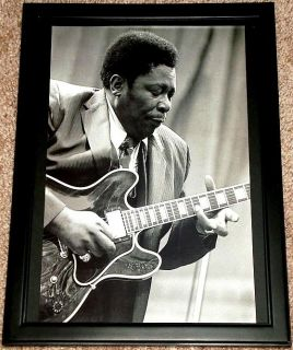 BB King Blues Gibson ES 335 Lucille Framed Live Tribute